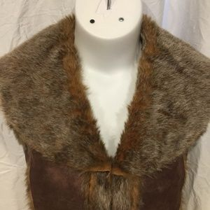 Cejon Jackets & Coats - Cejon Faux Suede & Fur Vest